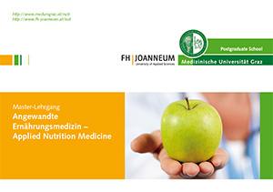 "Master-Lehrgang ""Angewandte Ernährungsmedizin/Applied Nutrition Medicine"